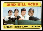 1969 Topps #532  Bird Hill Aces  -  Mike Cuellar / Jim Hardin / Dave McNally / Tom Phoebus Front Thumbnail