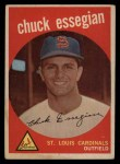 1959 Topps #278   Chuck Essegian Front Thumbnail