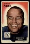 1955 Bowman #65   Buddy Young Front Thumbnail