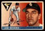 1955 Topps #58   Jim Rivera Front Thumbnail