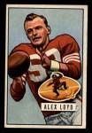 1951 Bowman #31   Alex Loyd Front Thumbnail
