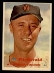 1957 Topps #367  Ed Fitzgerald  Front Thumbnail