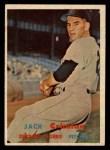 1957 Topps #297   Jack Crimian Front Thumbnail