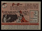 1958 Topps #89   Billy Klaus Back Thumbnail