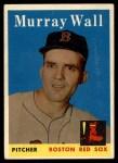 1958 Topps #410  Murray Wall  Front Thumbnail