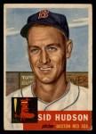 1953 Topps #251   Sid Hudson Front Thumbnail