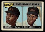 1965 Topps #16  Houston Rookies  -  Joe Morgan / Sonny Jackson Front Thumbnail