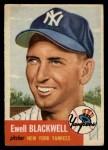 1953 Topps #31  Ewell Blackwell  Front Thumbnail