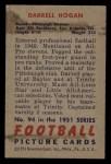1951 Bowman #94   Darrell Hogan Back Thumbnail