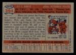 1957 Topps #394  Luis Arroyo  Back Thumbnail