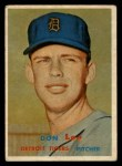 1957 Topps #379  Don Lee  Front Thumbnail