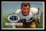 1951 Bowman #96   Ernie Stautner Front Thumbnail