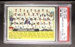1956 Topps #11 CEN Cubs Team  Front Thumbnail