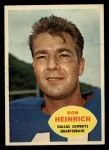1960 Topps #32  Don Heinrich  Front Thumbnail