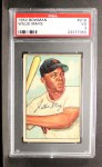 1952 Bowman #218  Willie Mays  Front Thumbnail