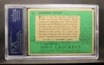 1956 Topps Davy Crockett #2 GRN Dangerous Mission   Back Thumbnail
