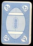 1971 Topps Game Inserts #49   John Brodie Back Thumbnail