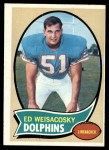 1970 Topps #262   Ed Weisacosky Front Thumbnail