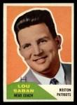 1960 Fleer #55   Lou Saban Front Thumbnail
