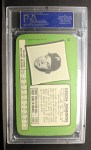 1971 Topps Super #58   Deron Johnson Back Thumbnail