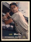 1957 Topps #52   Lee Walls Front Thumbnail