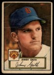 1952 Topps #25 RED  Johnny Groth Front Thumbnail