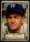 1952 Topps #2 RED  Pete Runnels Front Thumbnail