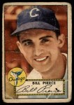 1952 Topps #98   Bill Pierce Front Thumbnail