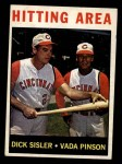 1964 Topps #162  Hitting Area  -  Dick Sisler / Vada Pinson Front Thumbnail