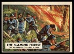 1962 Topps Civil War News #61   The Flaming Forest Front Thumbnail