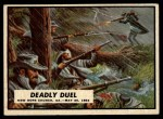 1962 Topps Civil War News #67   Deadly Duel Front Thumbnail