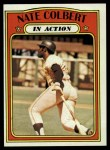 1972 Topps #572  In Action  -  Nate Colbert Front Thumbnail
