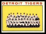 1964 Topps #67   Tigers Team Front Thumbnail