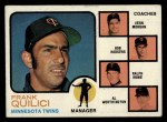 1973 Topps #49 ORG Twins Field Leaders  -  Frank Quilici / Vern Morgan / Bob Rodgers / Ralph Rowe / Al Worthington Front Thumbnail