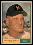 1961 Topps #257   Carroll Hardy Front Thumbnail
