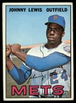 1967 Topps #91   Johnny Lewis Front Thumbnail