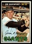 1967 Topps #441  Jim Davenport  Front Thumbnail