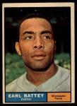 1961 Topps #315   Earl Battey Front Thumbnail