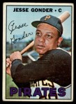 1967 Topps #301   Jesse Gonder Front Thumbnail