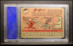 1958 Topps #2 YT Bob Lemon  Back Thumbnail