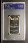 1909 T206 #98 OFF  Ty Cobb Back Thumbnail