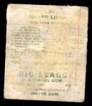 1933 Goudey #209  Dolf Luque  Back Thumbnail