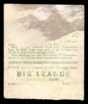 1933 Goudey #199  Tommy Bridges  Back Thumbnail