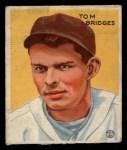 1933 Goudey #199   Tommy Bridges Front Thumbnail