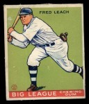 1933 Goudey #179   Fred Leach Front Thumbnail