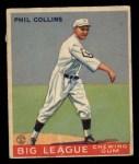 1933 Goudey #42   Eddie Collins Front Thumbnail