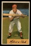 1954 Bowman #175   Mel Clark Front Thumbnail