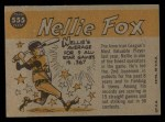 1960 Topps #555  All-Star  -  Nellie Fox Back Thumbnail