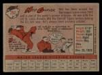 1958 Topps #292   Ned Garver Back Thumbnail