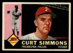 1960 Topps #451  Curt Simmons  Front Thumbnail